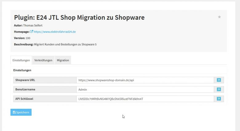 JTL Shop 4 Plugin - Migration zu Shopware 5